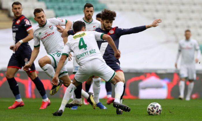 Bursaspor: 0 – Fraport TAV Antalyaspor: 3