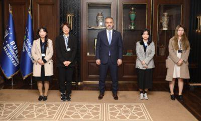 Bursa Büyükşehir'in Koreli stajyerleri turizm elçisi olacak
