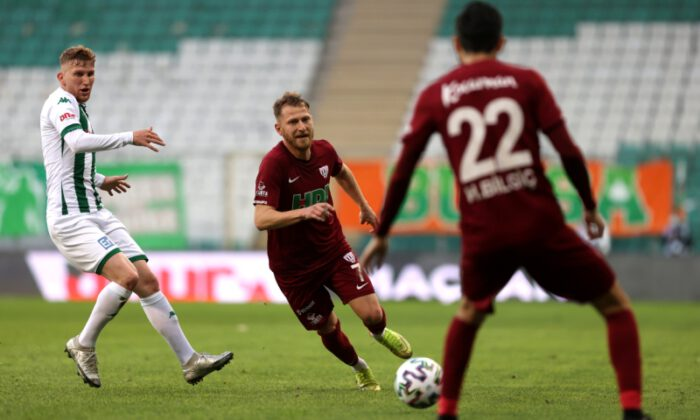 Bursaspor, '3' puanı uzatmada buldu: 2 -1