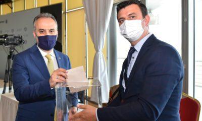 Bursa Büyükşehir Meclisinde komisyon seçimleri yapıldı