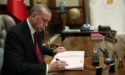 Erdoğan'ın imzasıyla gece yarısı görevden alındılar