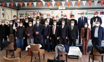 Şerbetçioğlu, TÜMSİAD Bursa Şubesi'nde güven tazeledi