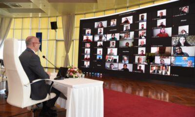 AK Parti Bursa Teşkilatı'nda online bayram buluşması