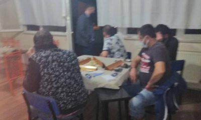 Bursa'da kumar oynayan 17 kişiye 108 bin 120 lira ceza
