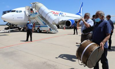 Yenişehir Havaalanı'ndan uçuşlar yeniden başladı