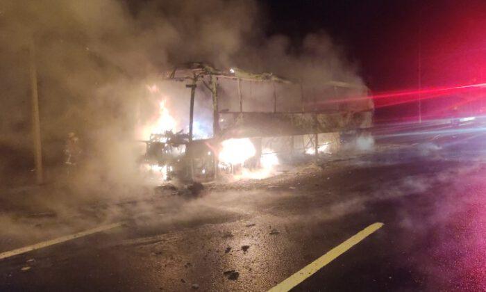 Bursa'da otobüs yolcuları büyük tehlike atlattı
