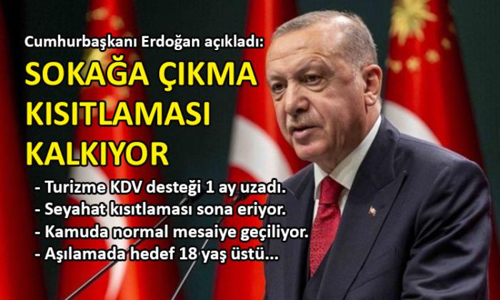 Erdoğan'dan corona tedbirleri açıklaması