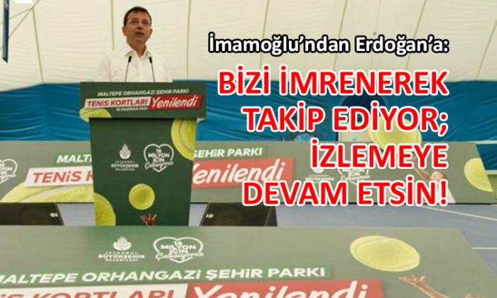 İmamoğlu'ndan Erdoğan'a 'hizmet' yanıtı geldi