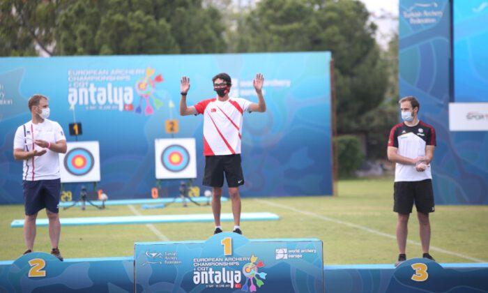 Milli okçu Mete Gazoz, Avrupa şampiyonu oldu