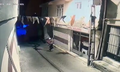AKP Hani İlçe Başkanlığına molotofkokteylli saldırı