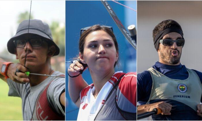 Üç milli sporcu, Tokyo 2020'de sahne alıyor