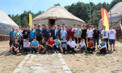 Keles Kocayayla'da kamp keyfi başladı