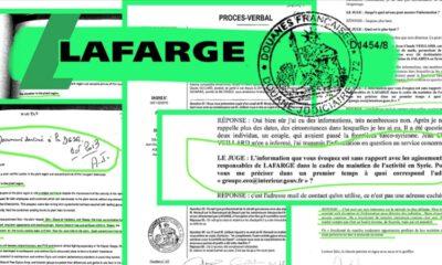 Fransız şirketi Lafarge, DEAŞ'ı finanse etmiş!