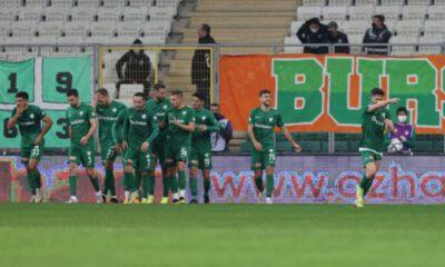 Bursaspor: 3 – Beypiliç Boluspor: 1