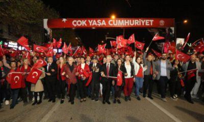 Bursa Nilüfer'de Cumhuriyet Bayramı coşkuyla kutlanacak
