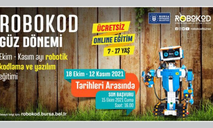 Bursa Büyükşehir'in başlattığı online kodlamada güz dönemi başlıyor