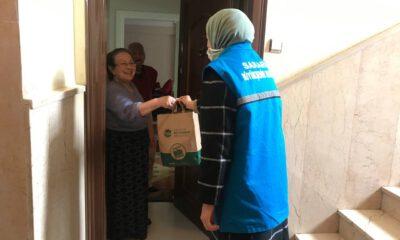 Sakarya YADEM'den yaşlılara hijyen paketi