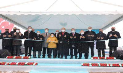 Kayseri Melikgazi'de Dr. Sami İpek Bulvarı açıldı